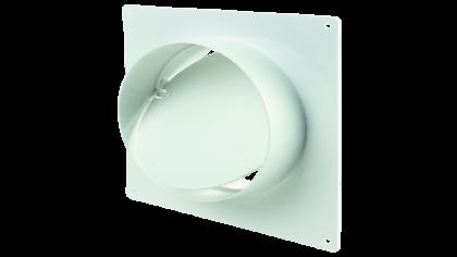 dc4b515a9df Конектор за стена с клапа Vents 3531 (съединител) за кръгли въздуховоди